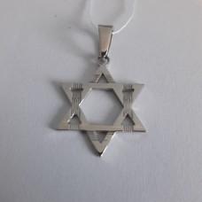 Звезда Давида серебряная