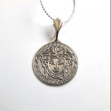 Дионис амулет-талисман серебряный