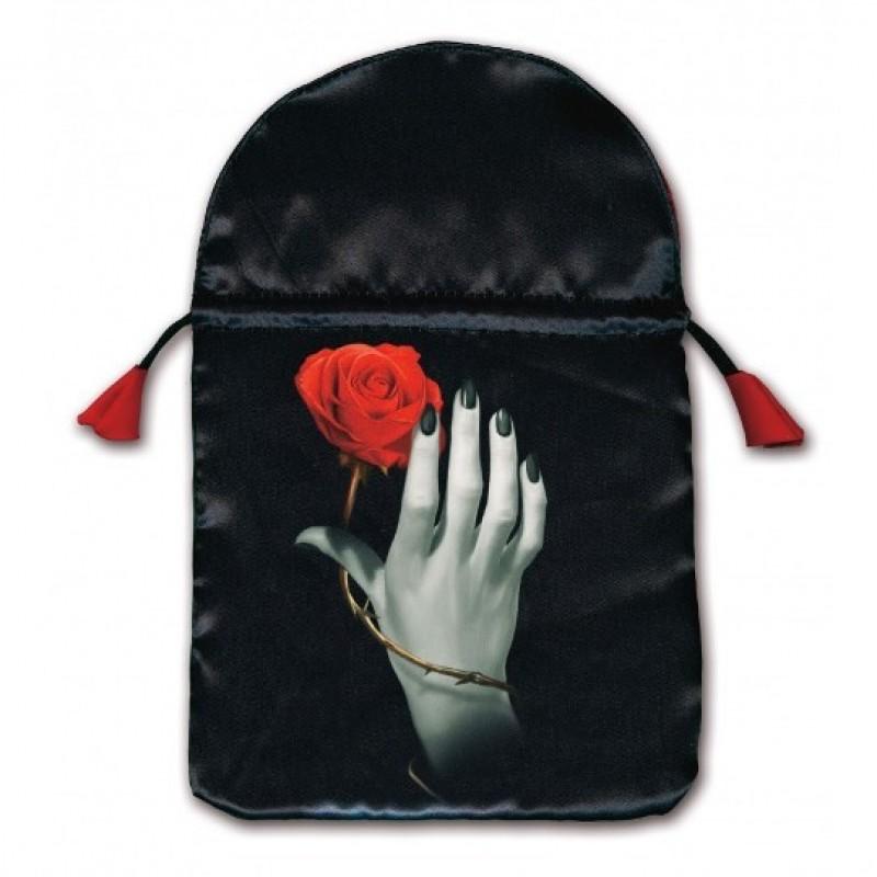 Мешочек для карт Таро «Роза в руке»