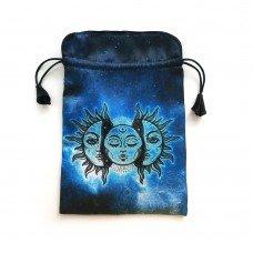 Мешочек для Таро Солнце и Луна