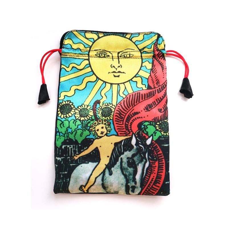 Мешочек для карт Таро Солнце