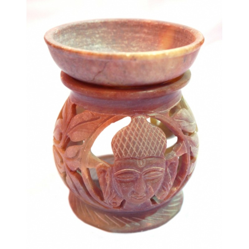 Аромалампа каменная круглая