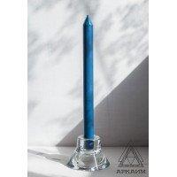 Свеча восковая Синяя