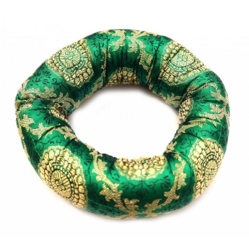 Подушка под поющую чашу Зеленая