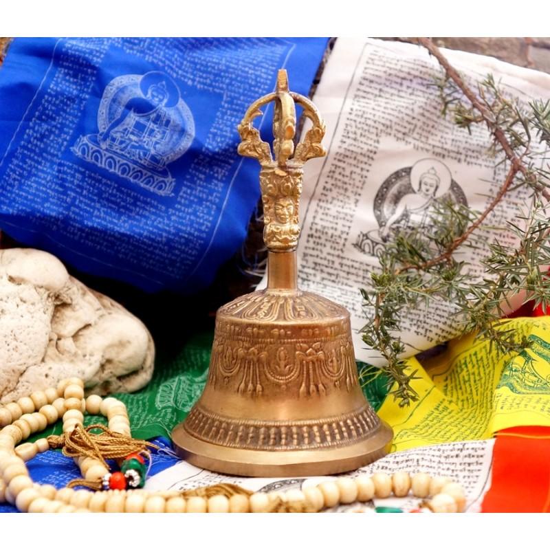 Тибетский поющий колокольчик Дильбу