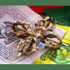 Ваджра (Дордже) крестообразная четырех лепестковая