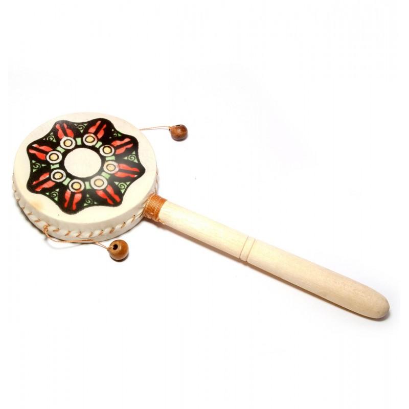 Дамару двойной ритуальный барабан малый