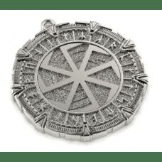 Славянский оберег Коловрат в рунном круге