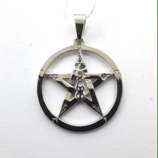 Звезда Соломона амулет-талисман серебряный