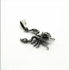 Скорпион амулет-талисман серебряный