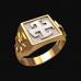 Перстень Богодар оберег славянский серебряный