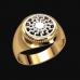Перстень Черное Солнце оберег славянский
