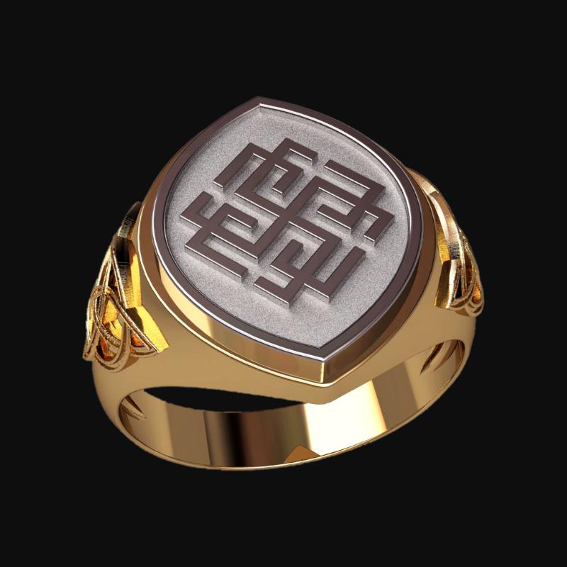 Перстень Родимич оберег славянский серебряный