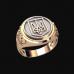 Перстень Тризуб серебряный