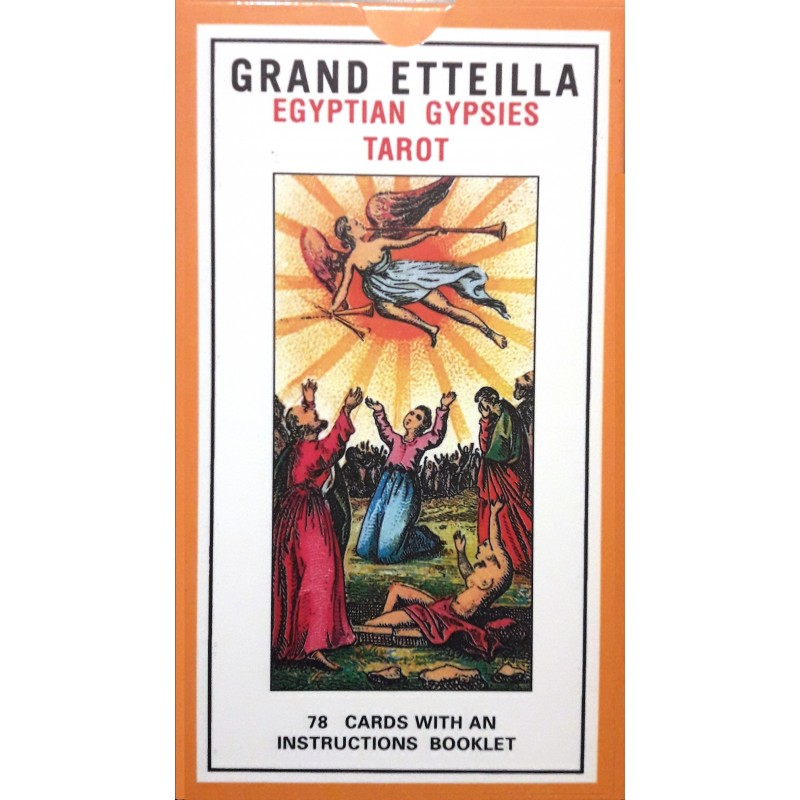 Таро Гранд Эттейла Grand Etteilla Egyptian Gypsies Tarot