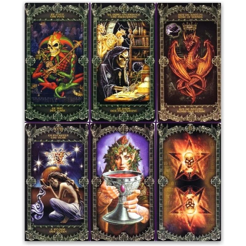 "Таро ""Alchemy 1977 England Tarot ""( Алхимия 1977 Английское Таро)"