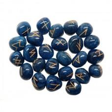 Руны Синий оникс с гравировкой