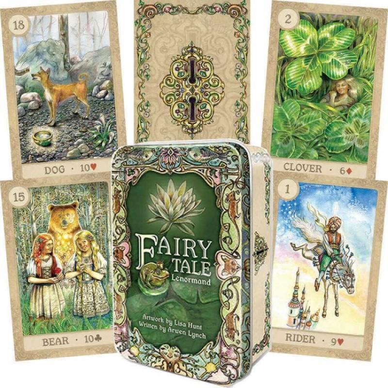 Карты Оракул Волшебная сказка Ленорман Fairy Tale Lenormand (в жестяной коробочке)