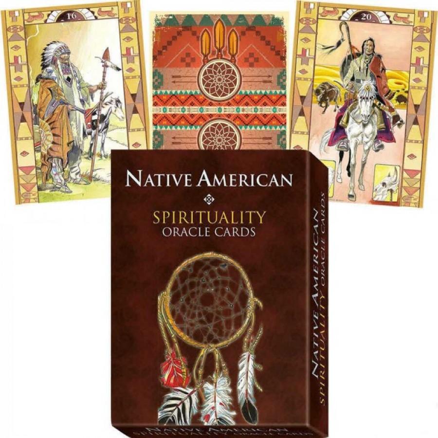 Карты Сакральный Оракул Американских Индейцев Native American Spirituality Oracle Cards