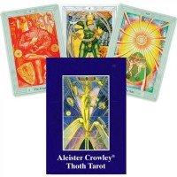 Карты Таро Тота Алистера Кроули Aleister Crowley Thoth Tarot Standard