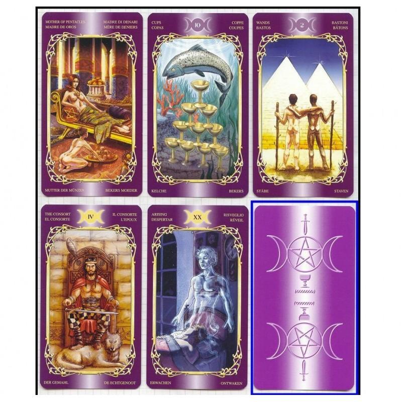 """Карты Таро """"Чувственное Викканское Таро"""" (Таинственного Мира) Sensual Wicca Tarot"""