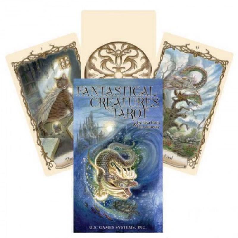 Карты Таро Фантастических Существ Fantastical Creatures Tarot