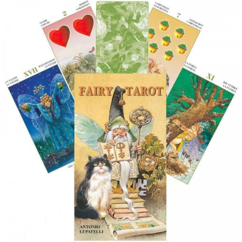 Карты Таро Фей Антонио Лупателли Fairy Tarot Antonio Lupatelli