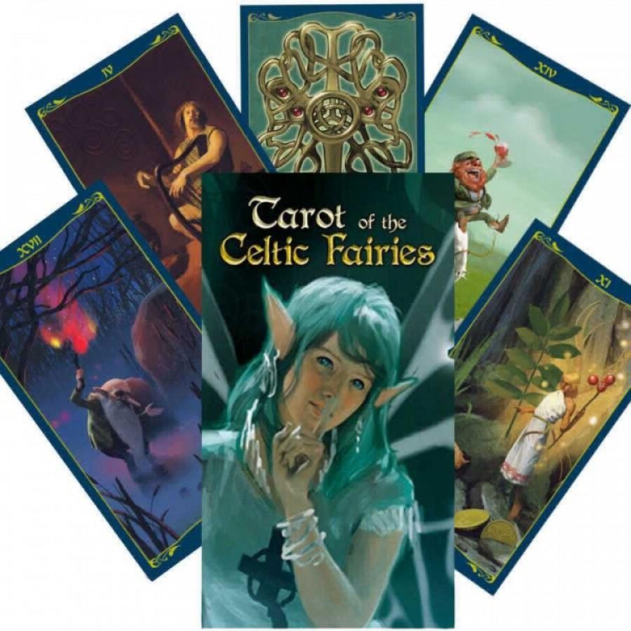 Карты Таро Кельтских Фей (Роща Фей) Tarot of the Celtic Fairies