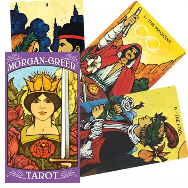Карты Таро Морган-Грир Morgan-Greer Tarot