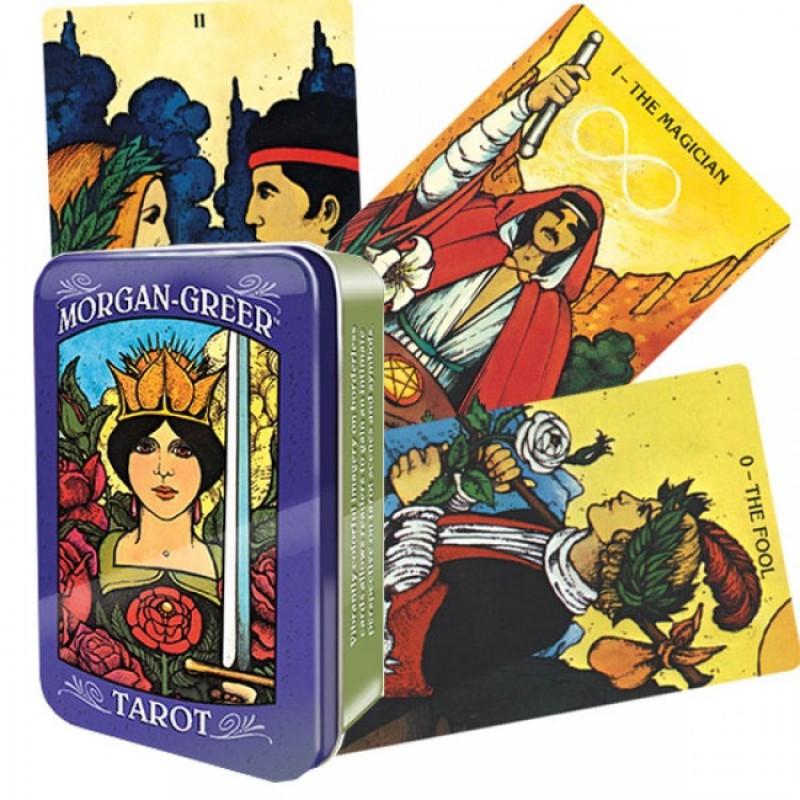 Карты Таро Морган-Грир Morgan-Greer Tarot (в жестяной коробке)
