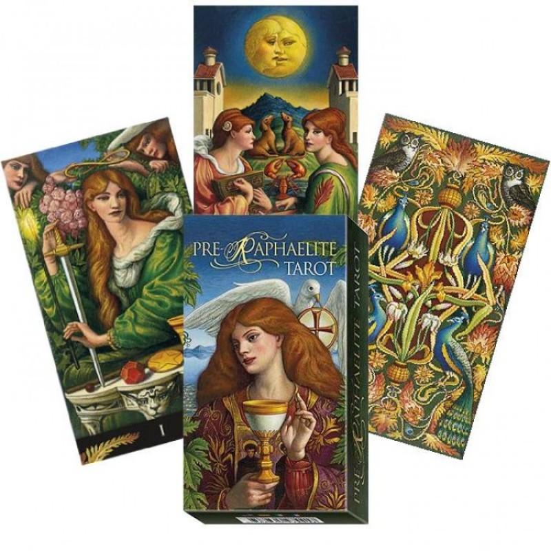 Карты Таро ПреРафаэлитов Pre-Raphaelite Tarot