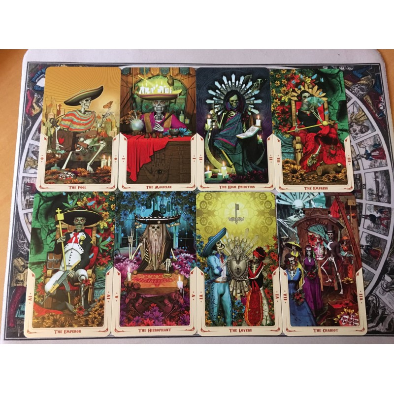 Карты Таро Святой Смерти (Санта Муэрте) Fabio Listrani Tarot Santa Muerte