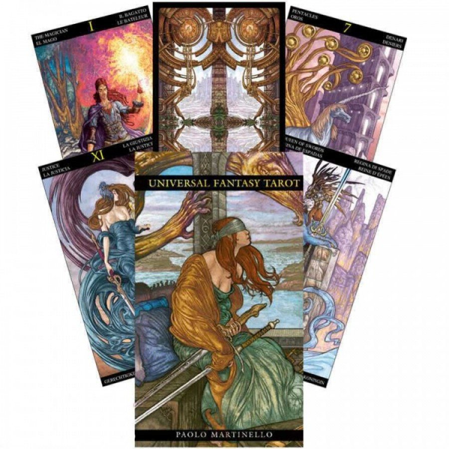 Карты Таро Царство Фэнтези Universal Fantasy Tarot