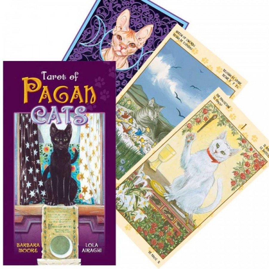 Карты Таро Языческих Кошек Tarot of Pagan Cats
