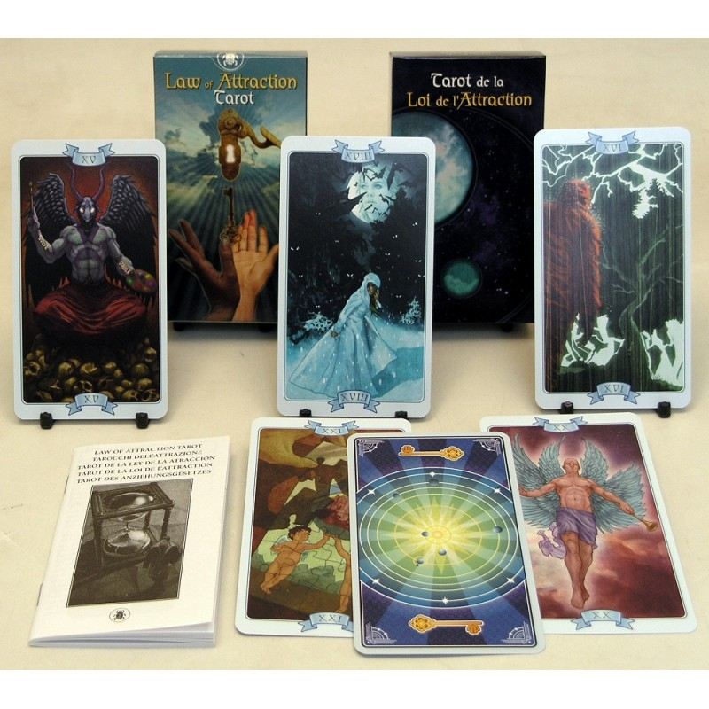 Карты Таро Закона Притяжения Law of Attraction Tarot