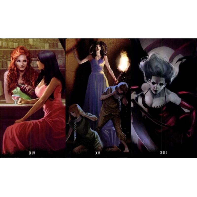 Карты Таро Дом с Привидениями Tarot of the Haunted House