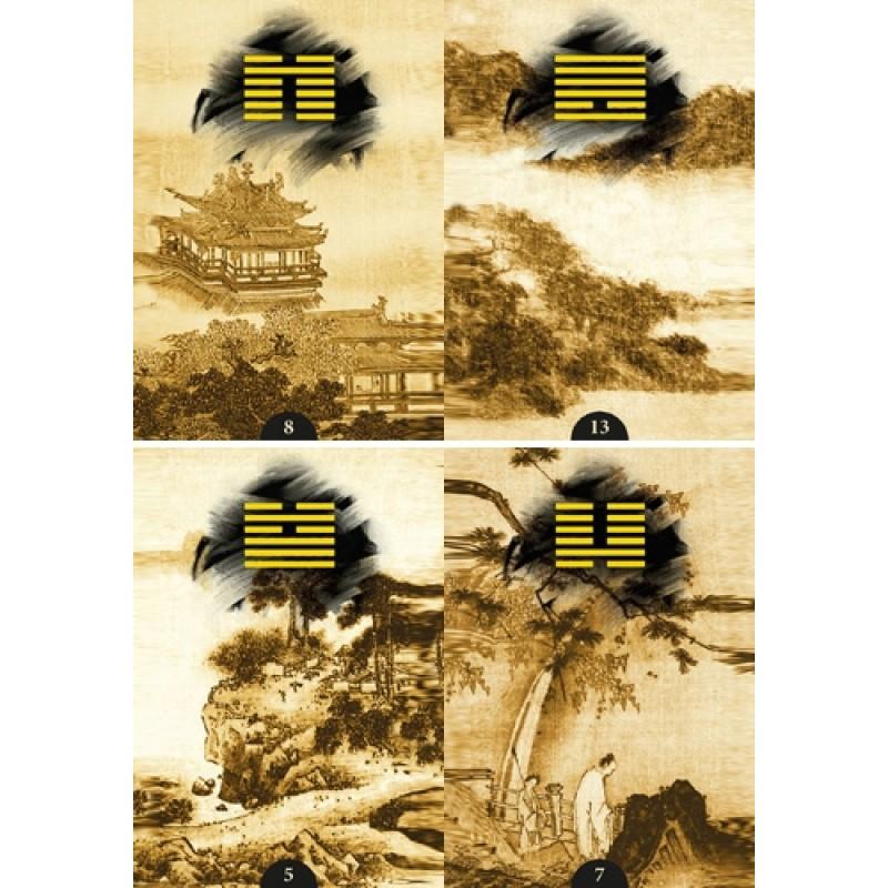 Карты Оракул И-Цзин I-Ching 64 Oracle Cards