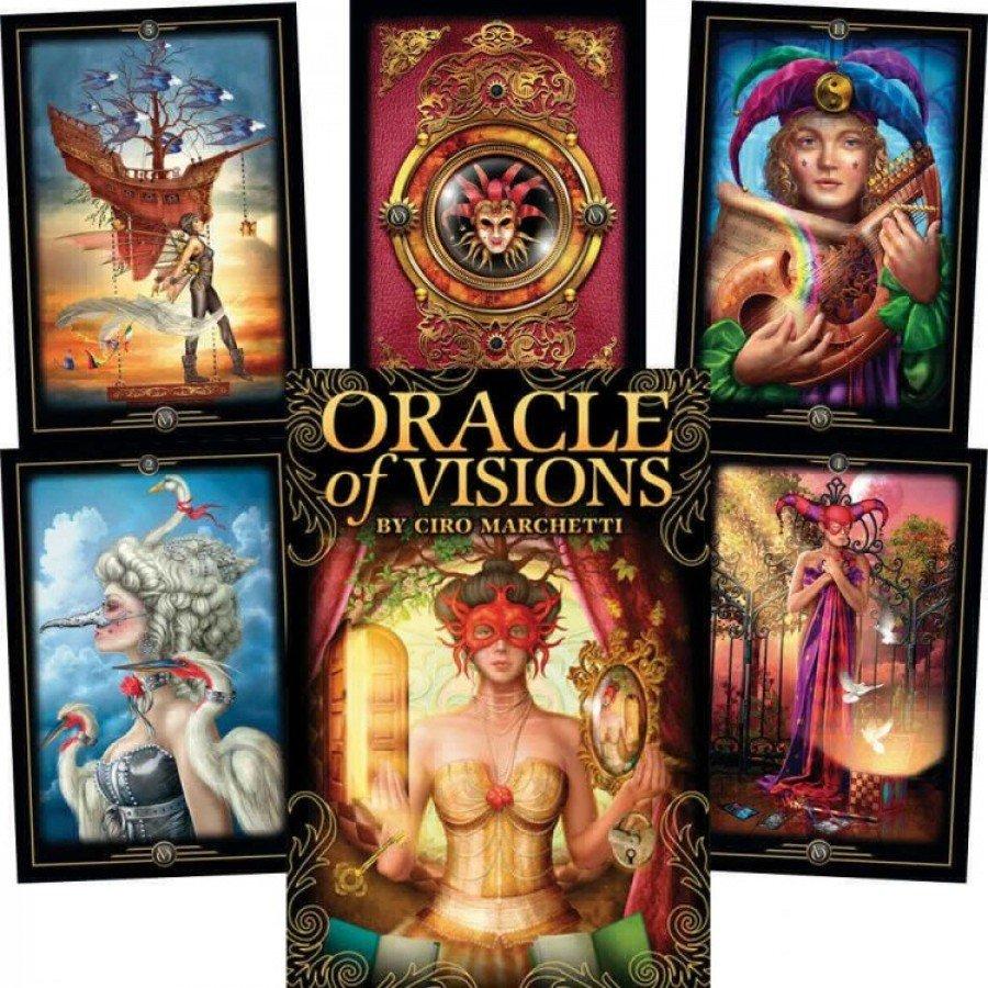 Карты Оракул Видений Чиро Маркетти Oracle of Visions