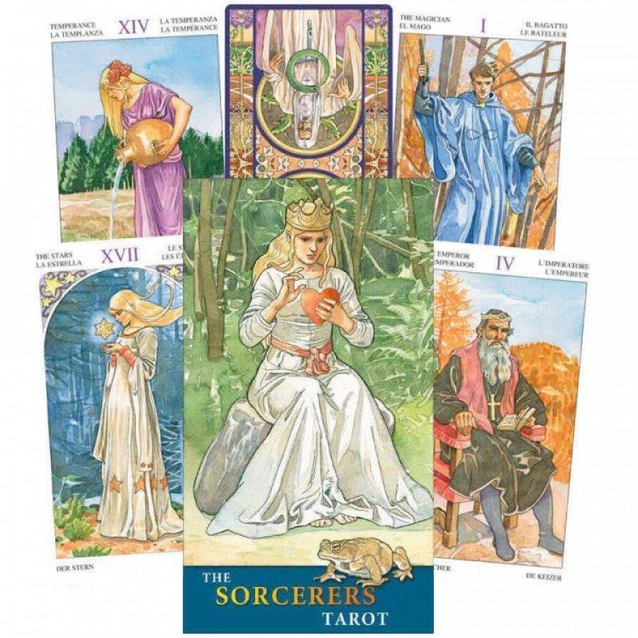 Карты Таро 78 Волшебников The Sorcerers Tarot