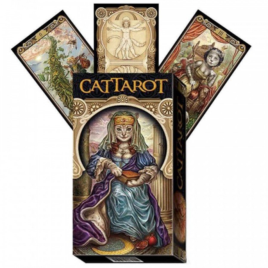 Карты Таро Мир Кошек (КотоТаро) CatTarot