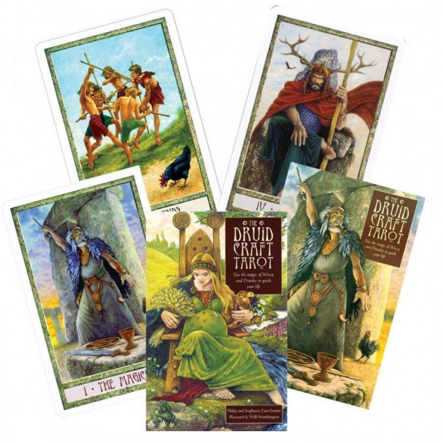 Карты Таро Ремёсла Друидов (Друидкрафт) Druid Craft Tarot