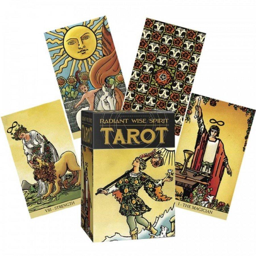 Карты Таро Сияющего Мудрого Духа Radiant Wise Spirit Tarot