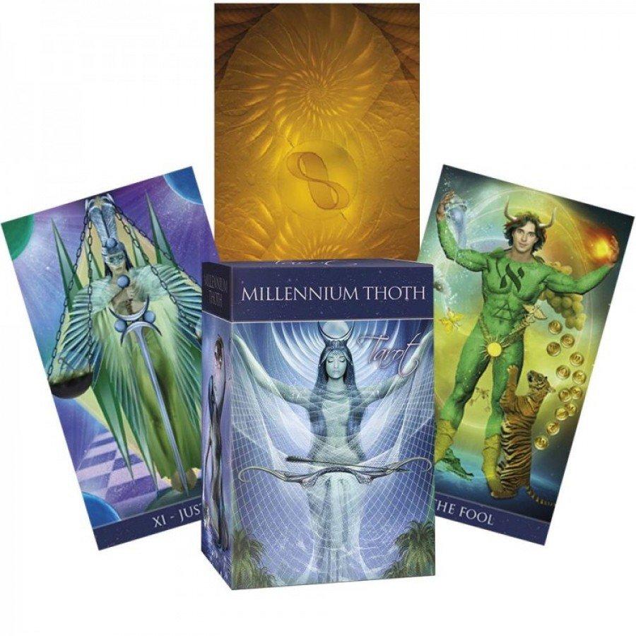 Карты Таро Тота Миллениум Millennium Thoth Tarot