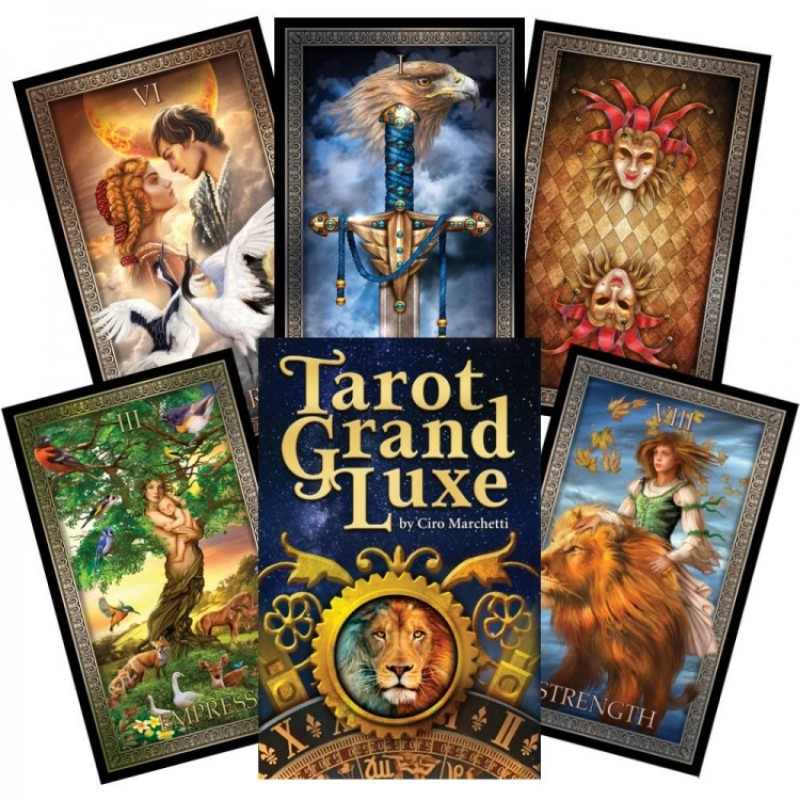 Карты Таро Гранд Люкс Grand Luxe Tarot