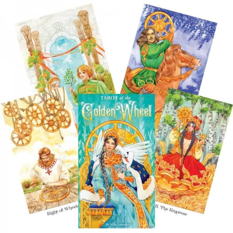 Карты Таро Золотого Колеса Tarot of the Golden Wheel