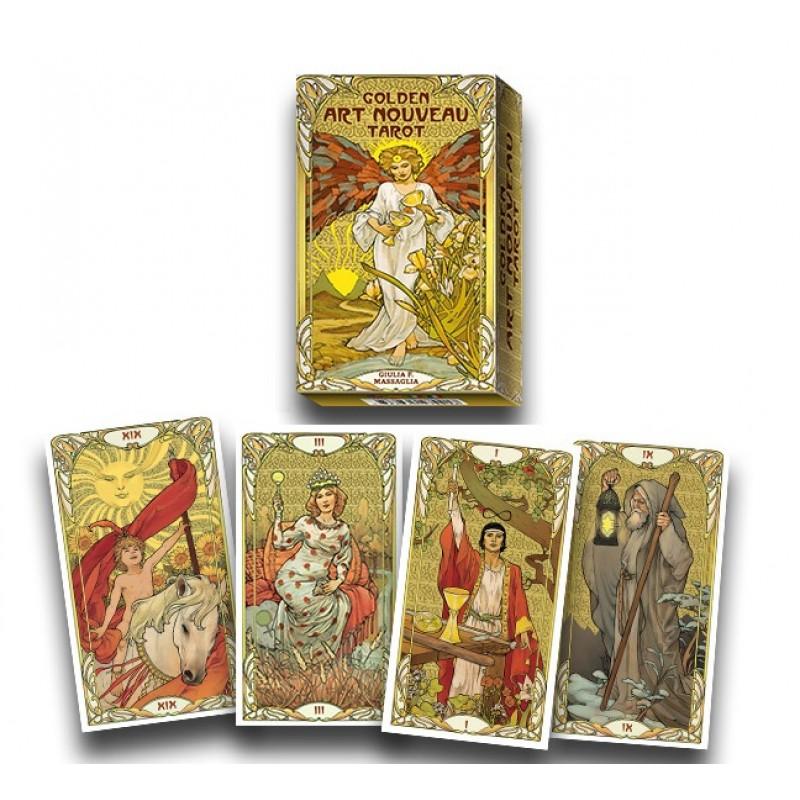 Карты Золотое Таро Арт Нуво Golden Art Nouveau Tarot