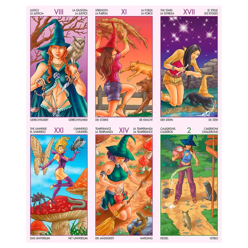 Таро Ведьм Witchy Tarot
