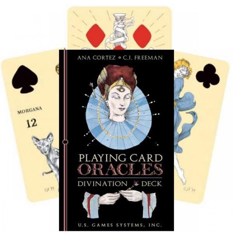 Игральные предсказательные карты Playing Card Oracles Divination Deck