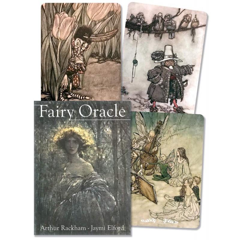 Карты Оракул Фей Arthur Rackham Fairy Oracle