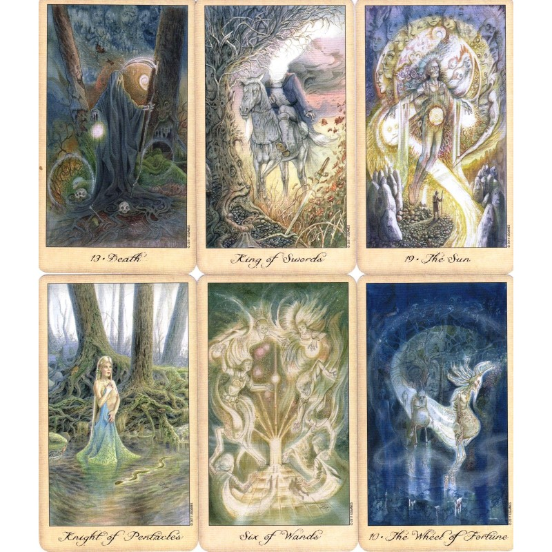 Карты Таро Призраков и Духов Ghosts and Spirits Tarot
